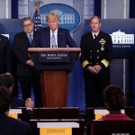 Trump, officials suggest coronavirus is weakened by sunlight and humidity