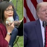 Trump abruptly ends press conference after contentious exchange with reporters