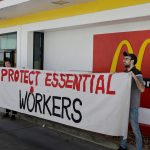 Hundreds of McDonald's workers plan Wednesday strike over COVID-19 protections